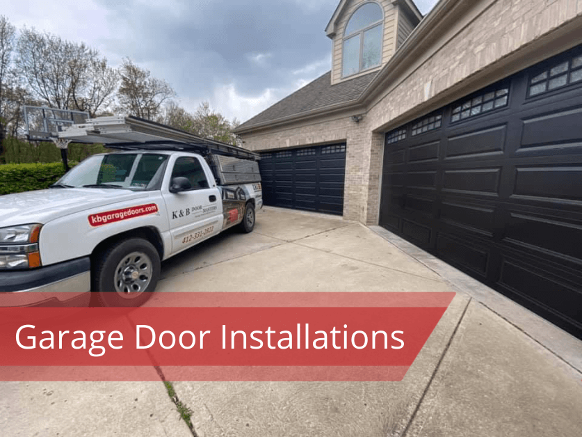 garage door installation Sewickley